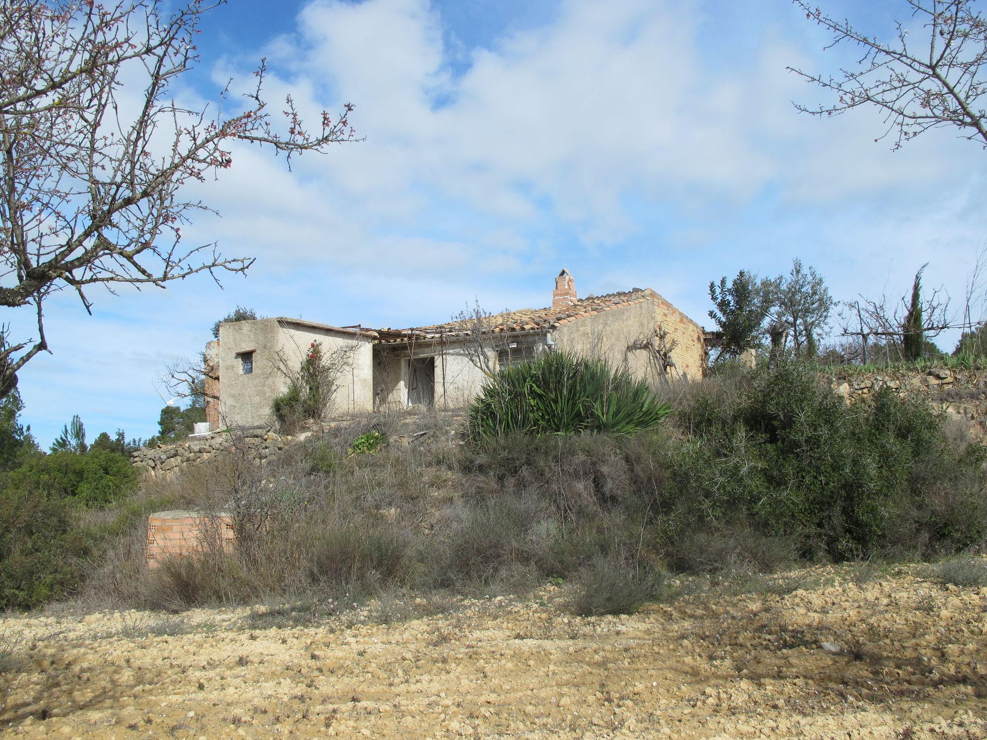 Almudefes, Caseres, Terra Alta, 1 Dormitorio Habitaciones, ,1 BañoBathrooms,Masia i cobert,Rústica,Almudefes, Caseres, Terra Alta,1003